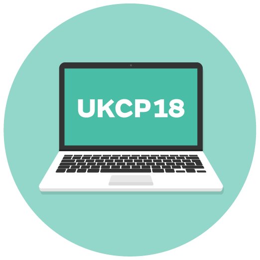 UKCP18 web pages